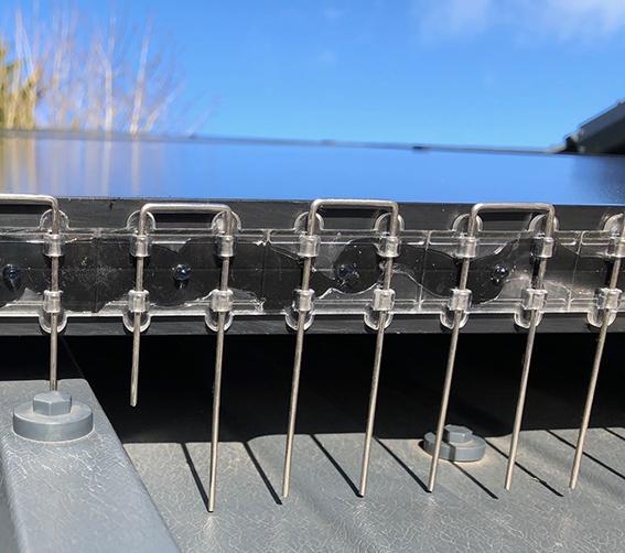 Stop Birds Nesting Under Solar Panels